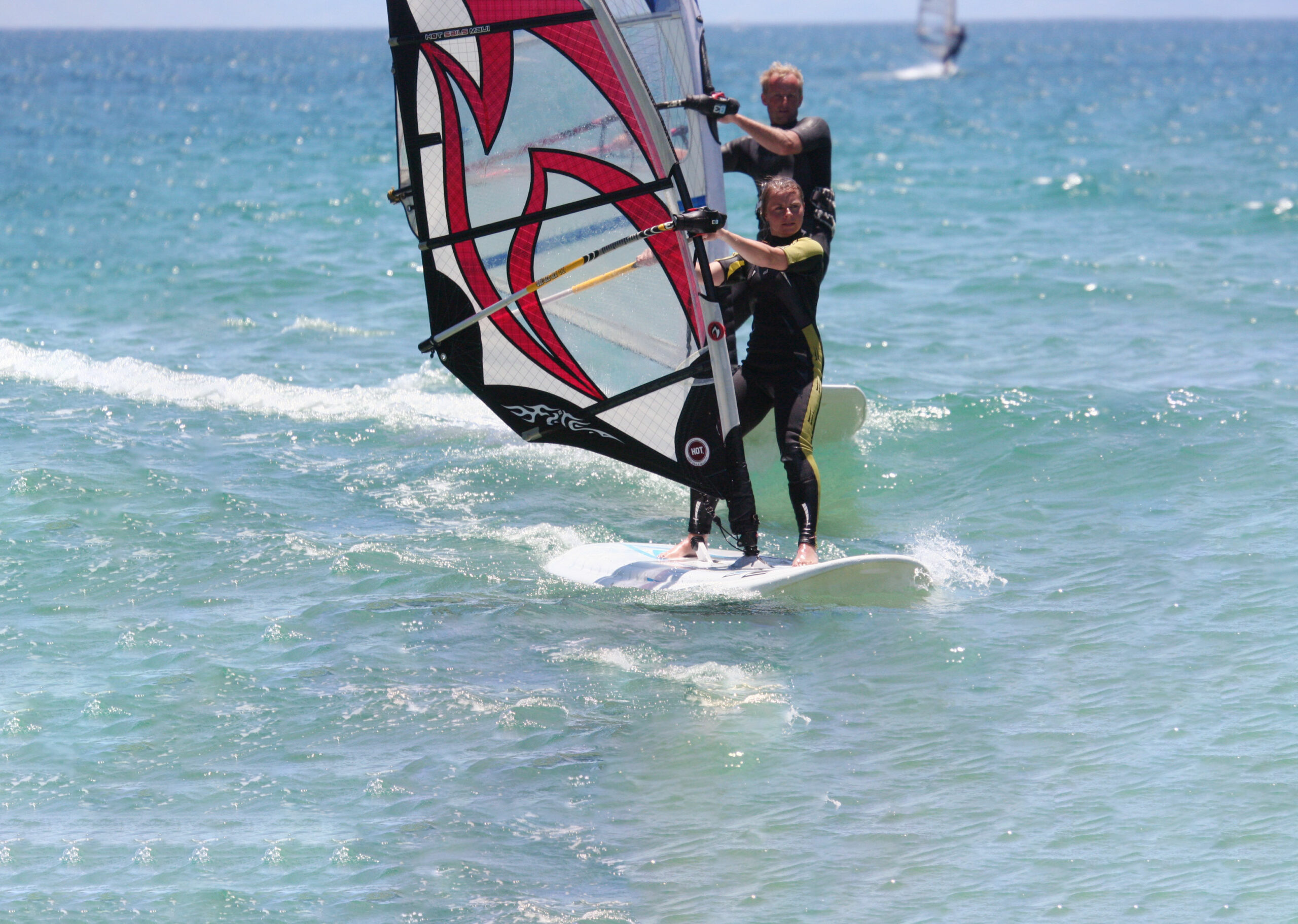 Enjoy windsurfing with us